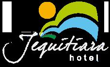 Logo do Jequitiara Hotel em Itaobim MG